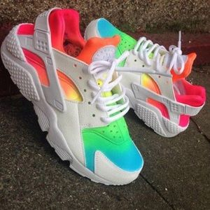 Nike Rainbow Huraches